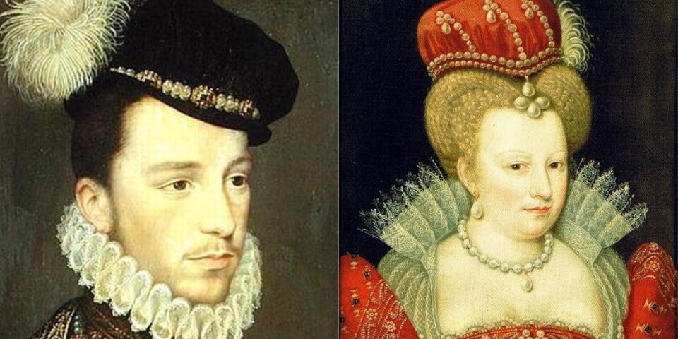 Генрих III и Маргарита де Валуа