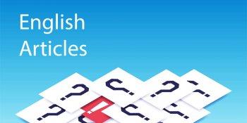 тест: артикли в английском языке