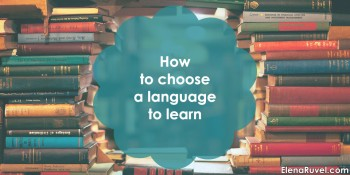 How to choose a language to learn