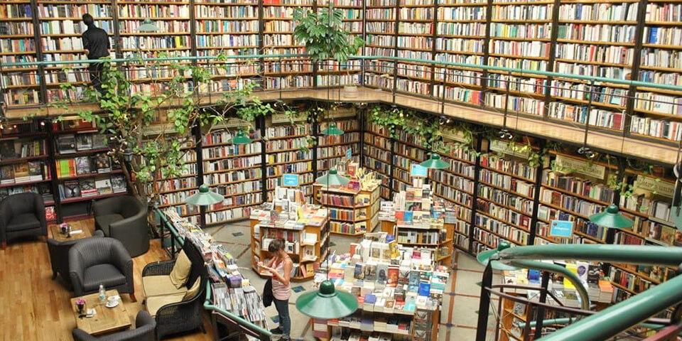 12 самых удивительных книжных магазинов в мире