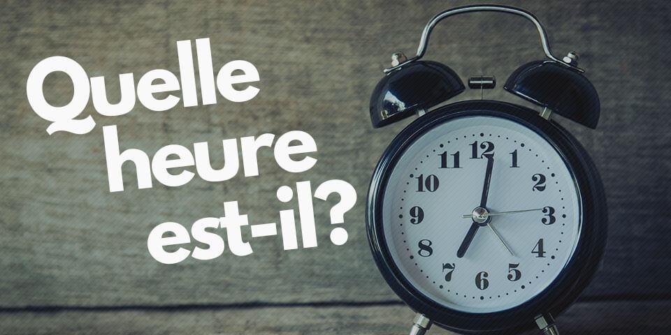 Как назвать время по-французски