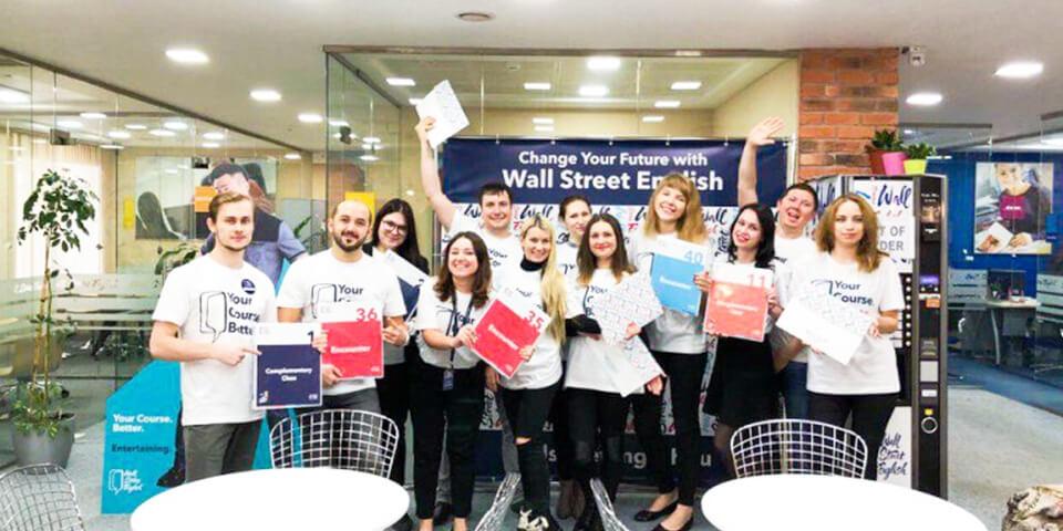 Школа английского Wall Street помогает
